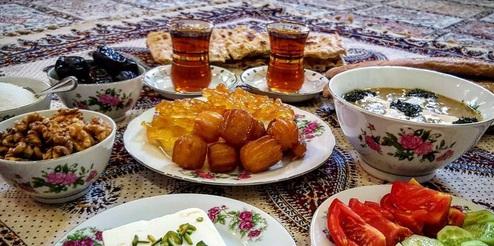 سفارش غذا در ماه رمضان